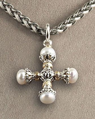 211 best konstantino images on pinterest contemporary jewellery konstantino pearl maltese cross pendant neiman marcus mozeypictures Choice Image
