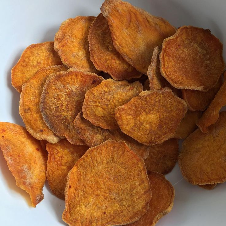 SMOKED MESQUITE SPICY SWEET POTATO CHIPS