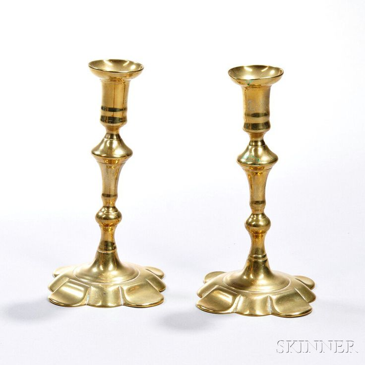 17 Best Images About Antique Brass Candlesticks On