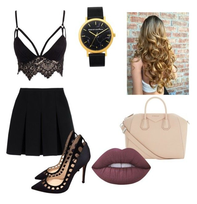 """""""I'm class today"""" by yangui-sarra on Polyvore featuring mode, Club L, Alexander Wang, Gianvito Rossi, Givenchy et Lime Crime"""
