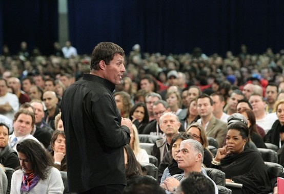 The Magnificent Tony Robbins!