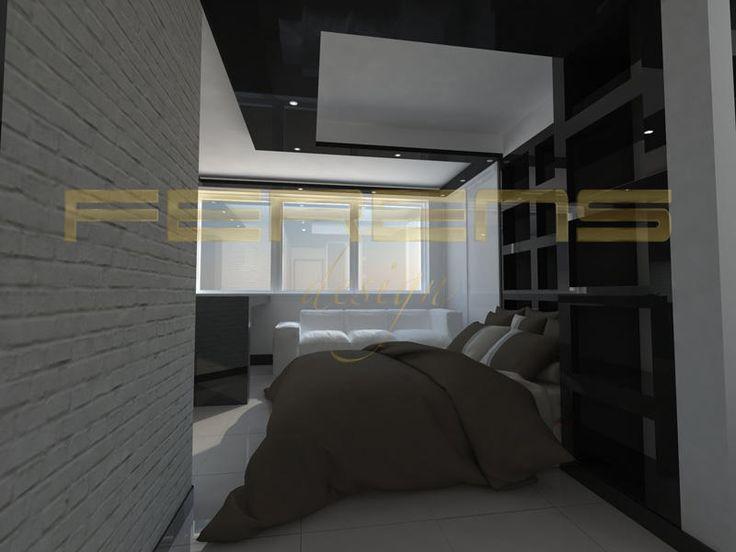 architekt FERENS design joanna ferens - hofman warszawa wizualizacje | MIESZKANIE KOROTYŃSKIEGO 2