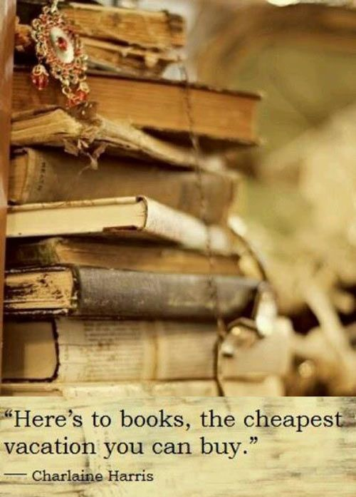 Here's to books!