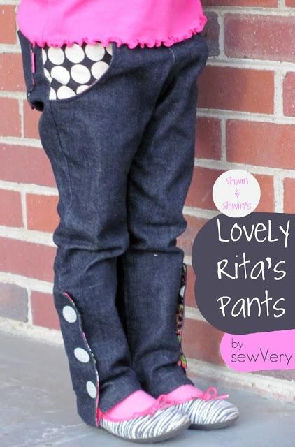 sewVery's version of Shwin & Shwin's Lovely Rita's Slim Pants