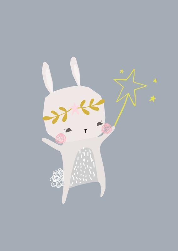 Resultado de imagen de cute rabbit illustration romantic