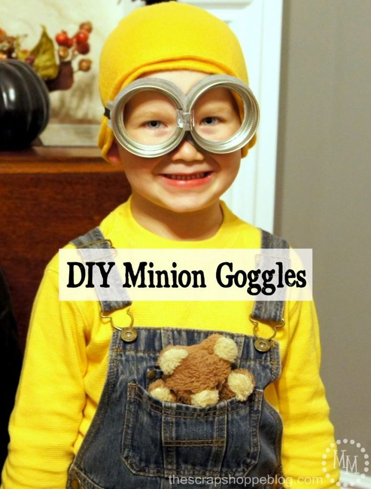 Make your own Minion goggles for your own little Minion! It couldn't be easier.