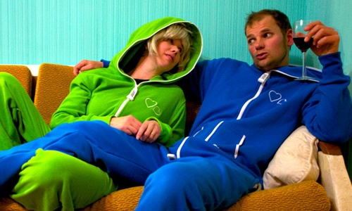 Up to 50% off cotton or polar fleece adult Onesies from Lovesuit (5 colours available)