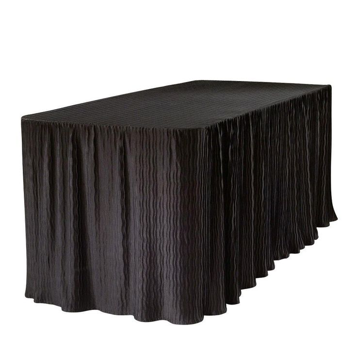 Black Tablecloth For Folding Table
