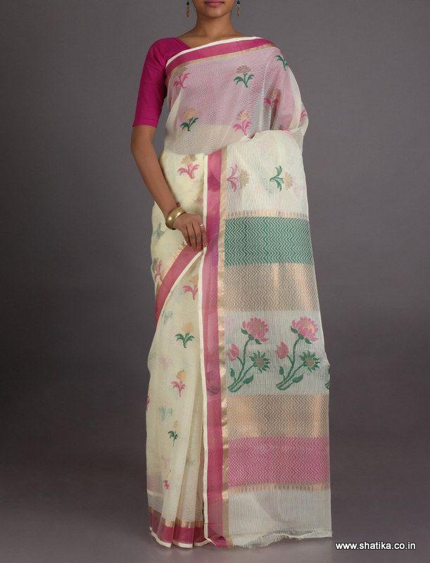 Savitri Radiance Of Lotus #KotaDoria #RealZariSaree