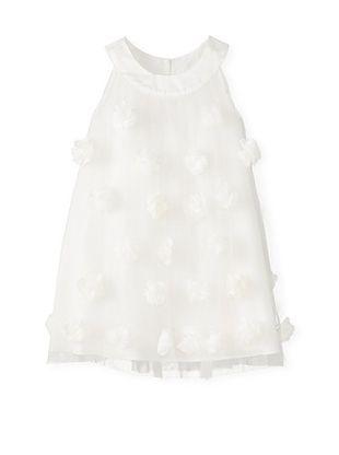 61% OFF Us Angels Girl's Rosette Dress (Ivory)
