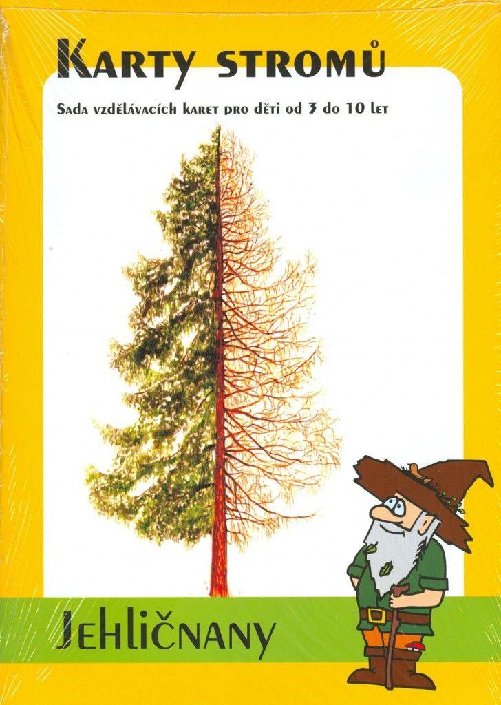 Karty stromů – Jehličnany