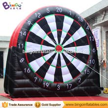 Inflatable football target type inflatable football darts board for sale