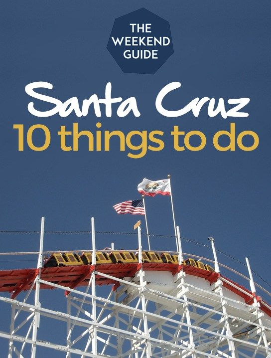 10 Things To Do in Santa Cruz, California • Santa Cruz is a small town but there is a lot to do, especially if you love nature and the ocean. But there are also plenty of things to entertain foodies and shoppers as well. Let's explore this coastal California town! More at http://theweekendguide.com/things-to-do-in-santa-cruz/ #santacruz #california