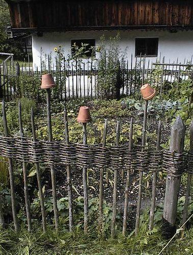 Bauerngarten | zaun
