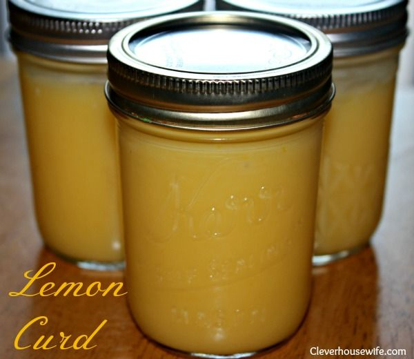 Homemade Lemon Curd - yummy on breads, and just about anything!