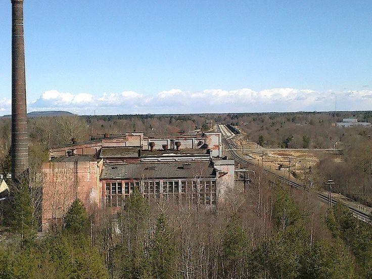 Брошенная ТЭС города Пюсси, Эстония