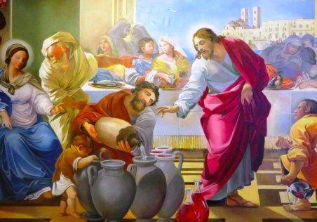 il miracolo delle nozze di cana