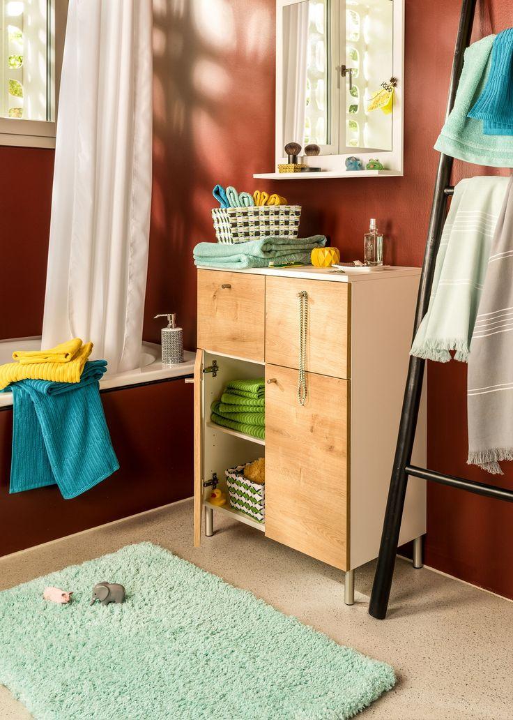 Micasa Badezimmer mit Beistellmöbel SAMU