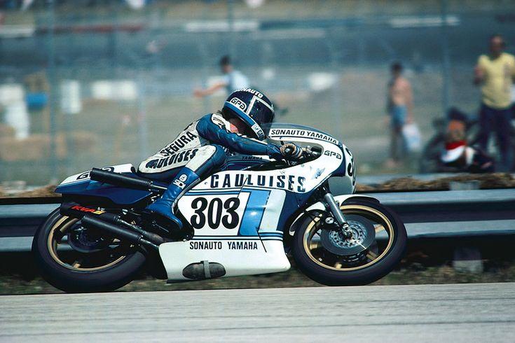 Patrick Pons, Gauloises Sonauto-Yamaha TZ750, 1979 Daytona 200