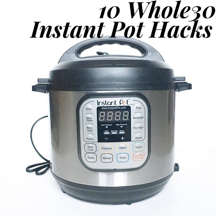 As much as I love Whole30, I love my Instant Pot more. Here are 10 Whole30 Instant Pot Meal Prep hacks!