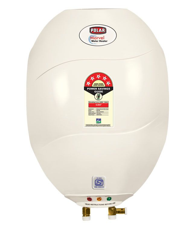 POLAR 25 LTR MARVEL ABS 5 STAR GEYSER IVORY A combination of features, style and utility, the POLAR 15L WHAH15M1 water heater is an excellent choice.   #Buy_Geyser_in_India  #Online_geyser