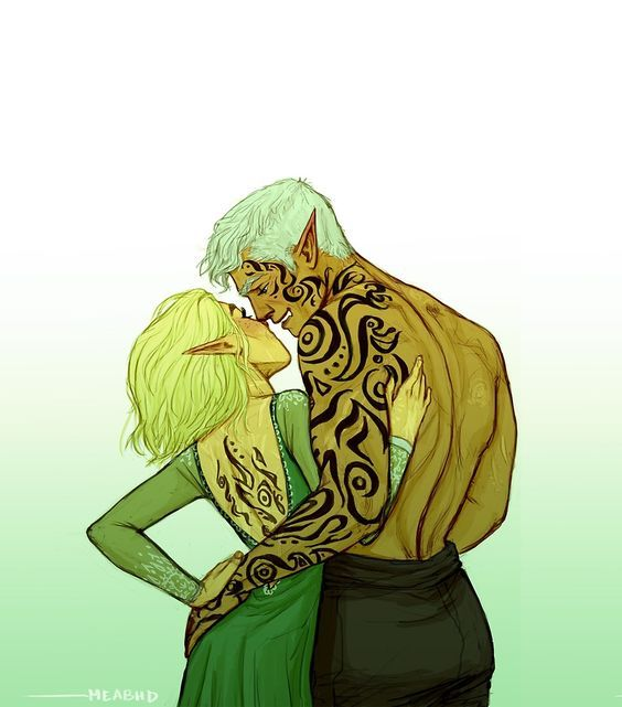 Aelin & Rowan