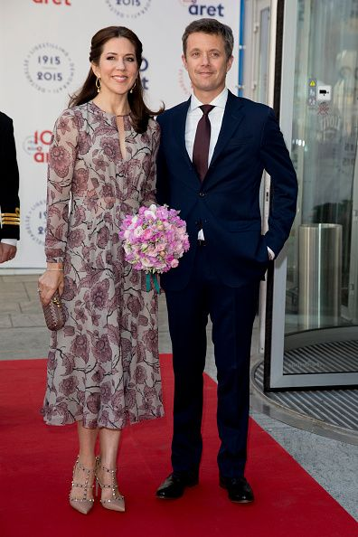 Crown Prince Frederik,and Crown Princess Mary of Denmark attends The Parliament and Government's Celebration of The 100th Anniversary of The 1915 Danish Constitution, at The Tivoli Hotel and Convention Center, on June 4th, 2015 in Copenhagen, Denmark