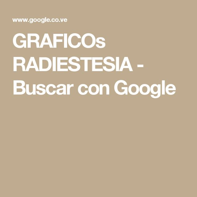GRAFICOs RADIESTESIA - Buscar con Google