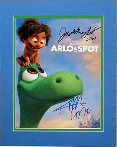 Disney The Good Dinosaur 8.5x11 Photo of Arlo and Spot Autographed By Voices Raymond Ochoa and Jack  @ niftywarehouse.com #NiftyWarehouse #Disney #DisneyMovies #Animated #Film #DisneyFilms #DisneyCartoons #Kids #Cartoons
