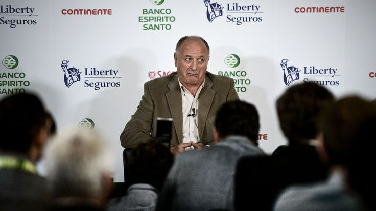Brazil's national football team coach Luiz Felipe Scolari