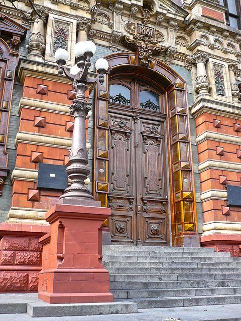 Portal del Palacio de las Aguas, avenida Córdoba y Ayacucho