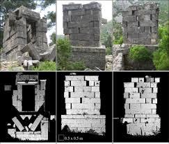 A forma como os blocos de pedra maciça de um mausoléu romano na Turquia foram abalados revela pistas sobre o poder de um terremoto que abalou a estrutura.