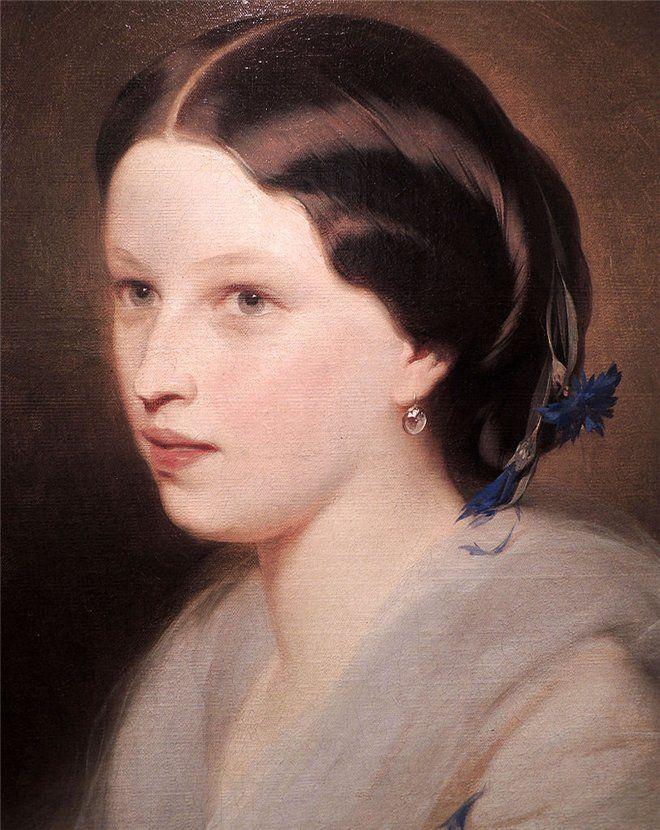 Иван Макаров - Мария Александровна Пушкина (1832-1919) - дочь Александра Сергеевича Пушкина и Натальи Николаевны Гончаровой