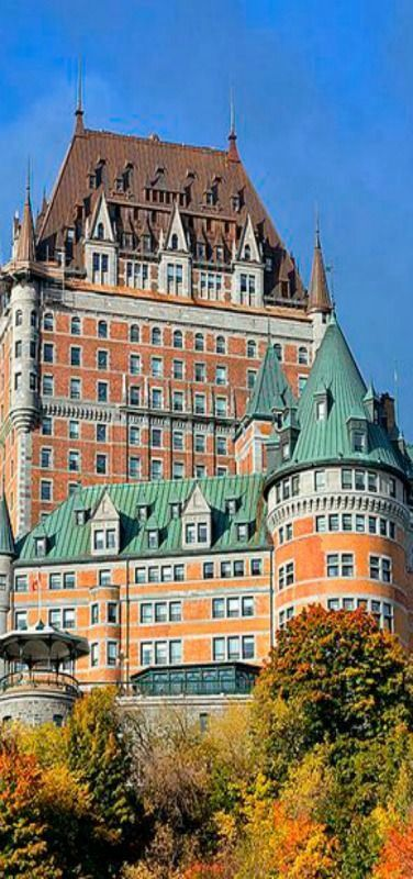 Chateau Frontenac, Quebec City, Quebec, Canada | by Pedro Lastra