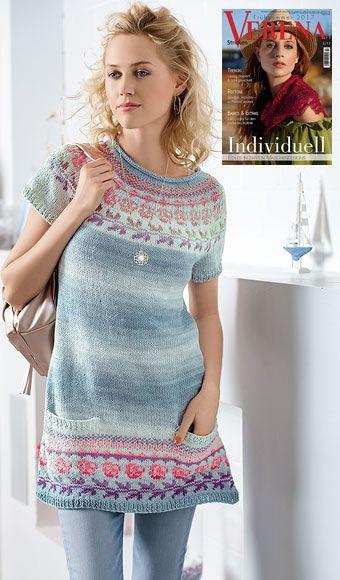 Kleid aus Pinta – Noch mehr Junghans-Wolle