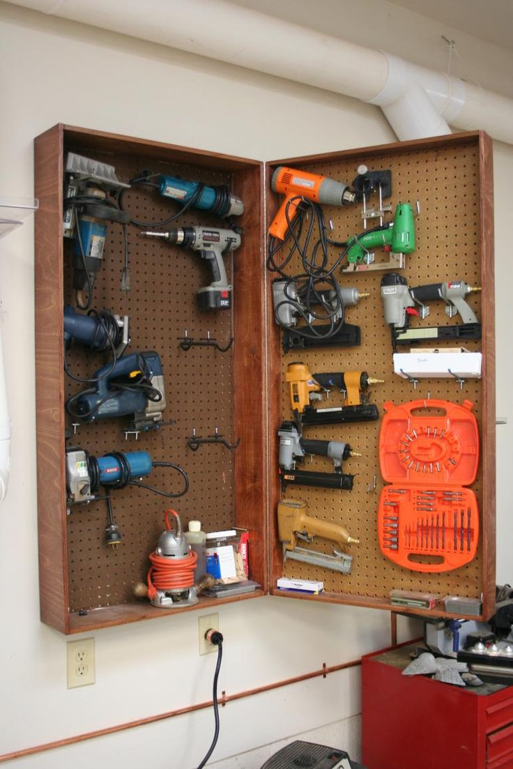 25 Best Ideas About Power Tool Storage On Pinterest