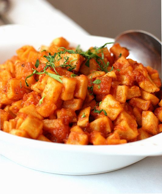 31 best spanish typical food images on pinterest spain spanish patatas bravas spicy potatoes spanish food 3 would love to try forumfinder Image collections