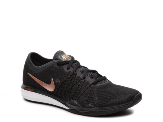 sports shoes f46a9 9e8fe Women s Nike Dual Fusion Hit Training Shoe - - Black Gold   Products   Shoes,  Sneakers nike, Nike dual fusion