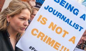 Being a journalist