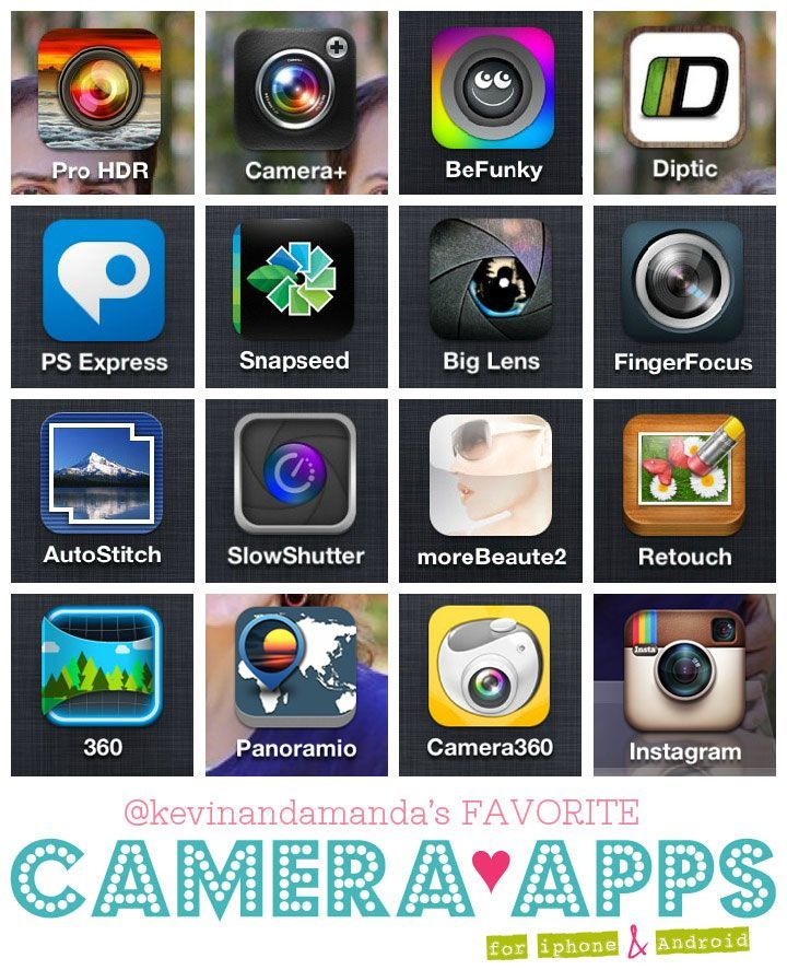 My Favorite Camera Apps for iPhone and Android Apps, The
