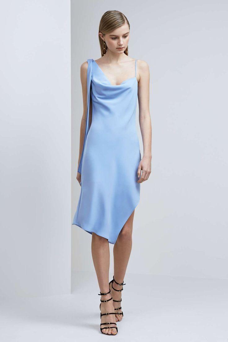 NEEDED ME DRESS pastel blue