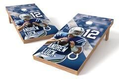 Andrew Luck NFL Single Cornhole Board
