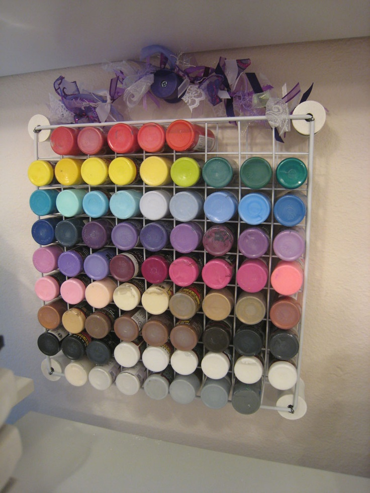 craft paint storage ideas 17 best ideas about acrylic paint storage on 4006