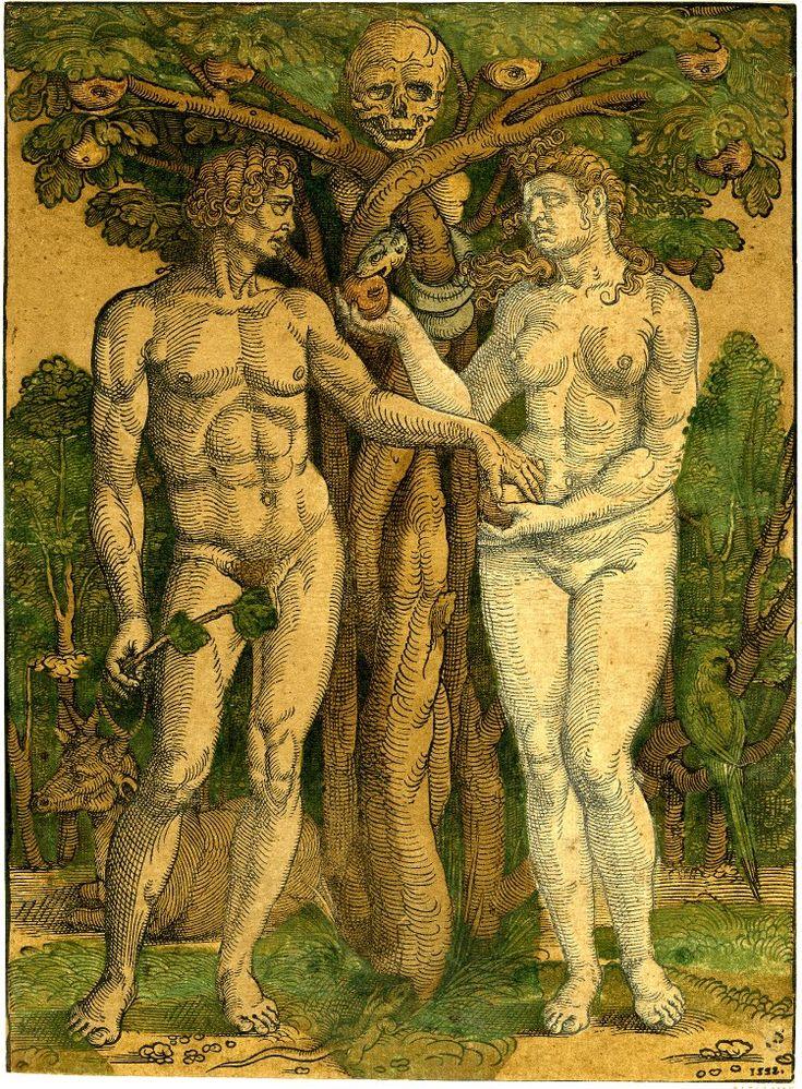 Как выглядели адам и ева фото