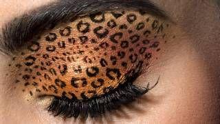 Leopard Eyes: HD Makeup Tutorial, via YouTube.