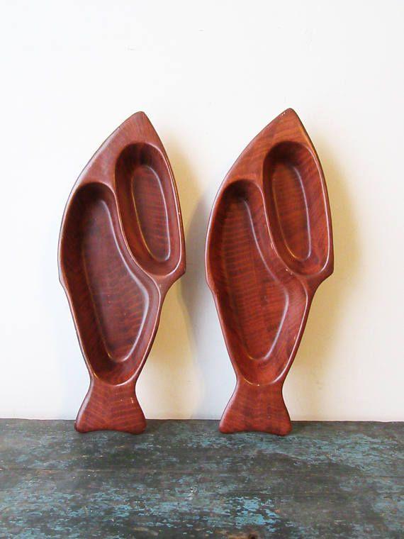 Midcentury Modern California Fish Bowls Pottery Fish Bowls #mothersDay #midcentury #midcenturyModern #californiaPottery #fishDecor #fishBowls #fathersDay