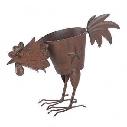 Rooster Planter