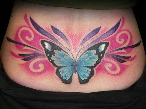 Tatuajes en la Espalda Baja Mujeres | Tatuajes para Hicas en la Espalda Baja