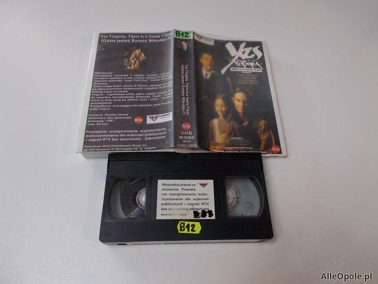 GDZIE JESTEŚ ŚWIĘTY MIKOŁAJU - VHS Kaseta Video - Opole 1665 (Opole)