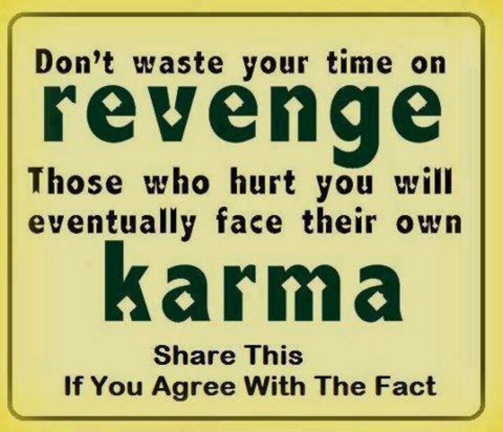 Karma And Revenge Quotes: Best Karma Quotes On Facebook. QuotesGram